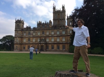 Peter West illustrates Highclere Castle