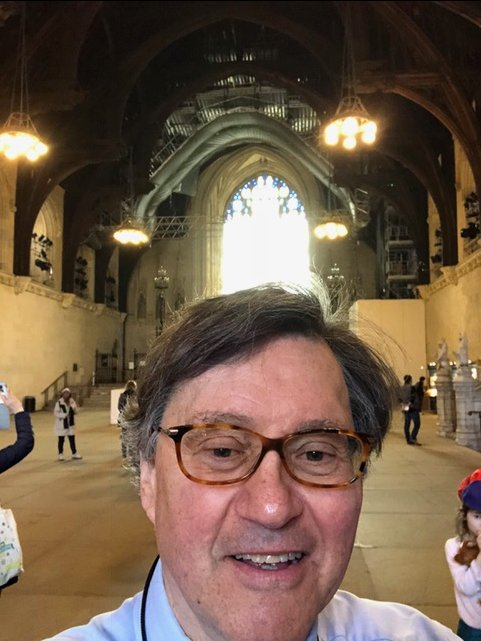 This is PW in Westminster Hall. - Houses of Parliament